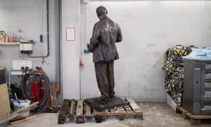 The Lenin statue due to be unveiled in Gelsenkirchen