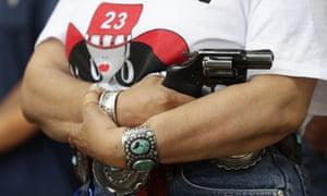 Texas' Republican-led legislature has made it easier for citizens to carry guns.