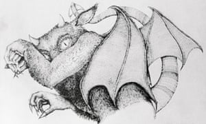 Heading to cinemas ... an artist's impression of the Jersey Devil.