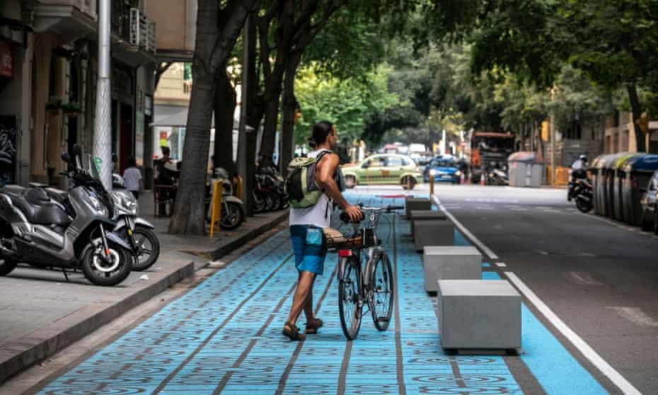 Barcelona public space