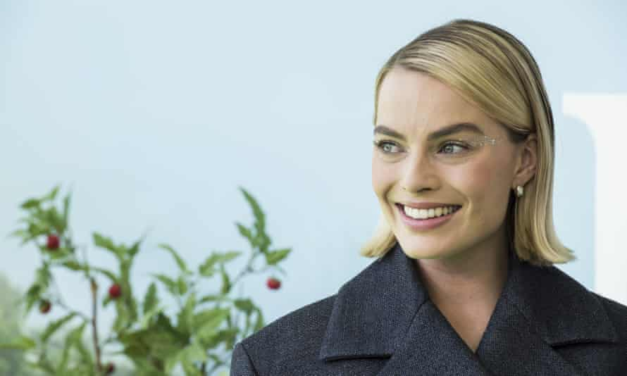 Margot Robbie in Sydney in March. Her Shakespeare series on the ABC