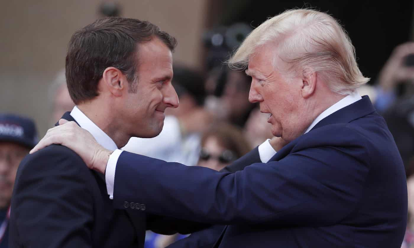Macron thinks he can handle Trump, but G7 will put that to the test