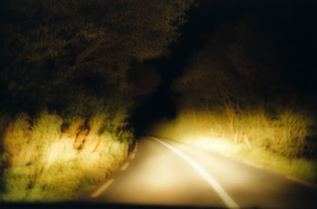 Yellow road: Belly Vaughan, From the series 'Beyond Maps and Atlases'