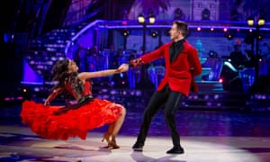 Will and Janette on Strictly