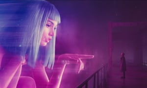 Joi, the virtual assistant in Blade Runner 2049.