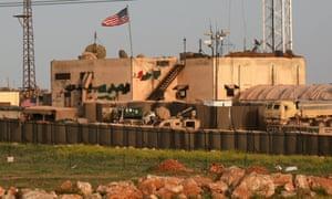 A US military base in al-Asaliyah, Syria