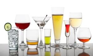 Popular bar drinks