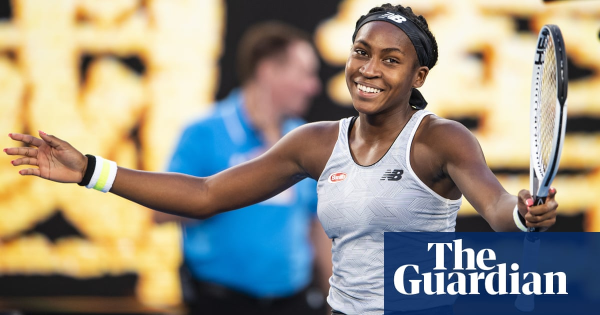 Coco Gauff routs defending champion Naomi Osaka at Australian Open