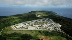 The Christmas Island immigration detention centre.