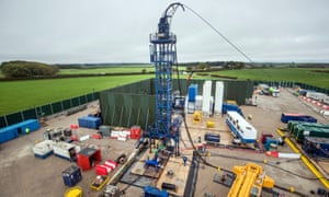 The Cuadrilla fracking site in Preston New Road, Lancashire.