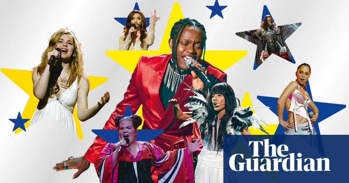 Sing about war and cluck like a chicken: tips from the pros on how to win Eurovision