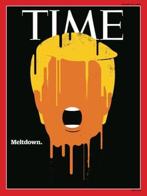 Trump Meltdown - Time Magazine August 22 2016