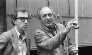 Light treatment … Carlo Di Palma (right) with Woody Allen.