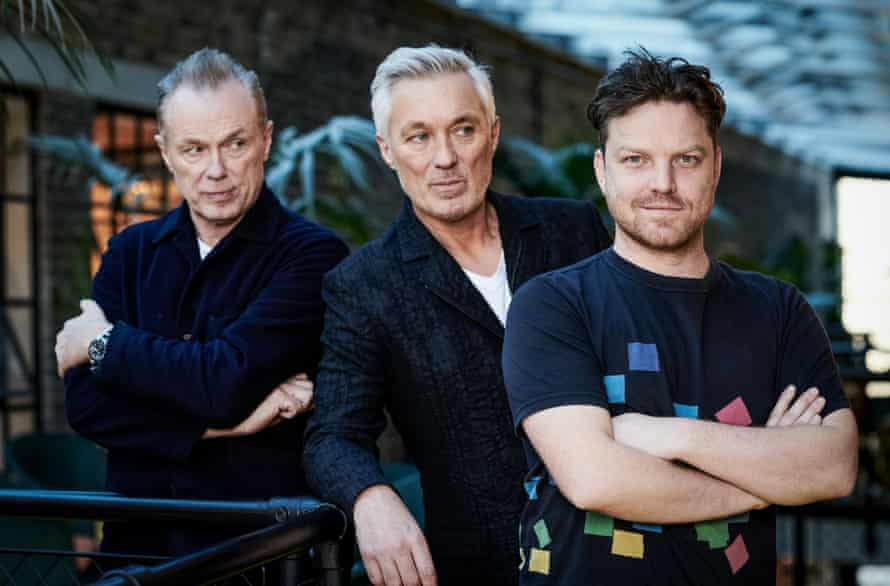 Gary Kemp, Martin Kemp and writer-director Rhys Thomas in The Kemps: All True.