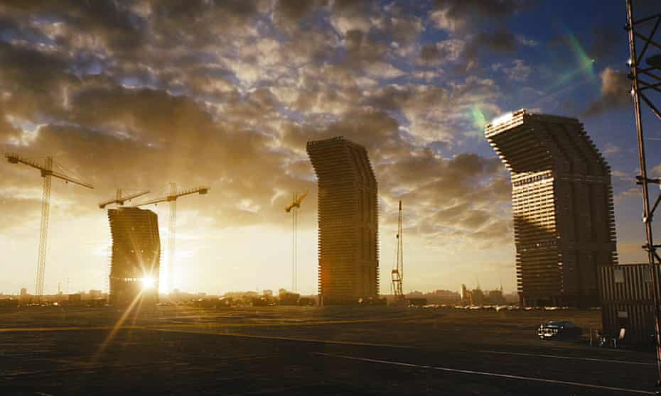 'A sense of instability' … the towers of the film High-Rise.
