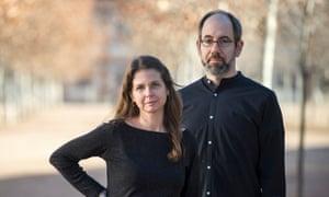 Directors Almudena Carracedo and Robert Bahar.