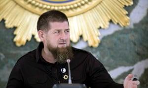 Ramzan Kadyrov chairs a meeting of Chechnya's emergency response committee for coronavirus.