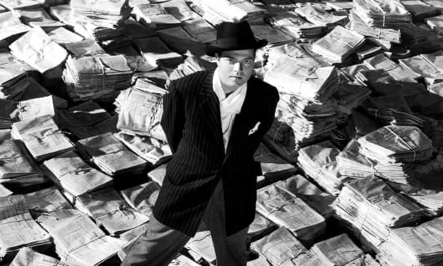 Welles in Citizen Kane (1941)