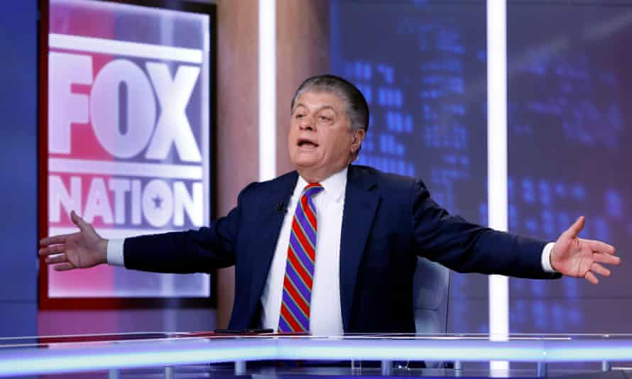 Andrew Napolitano called the president's comments about him 'brilliant'.