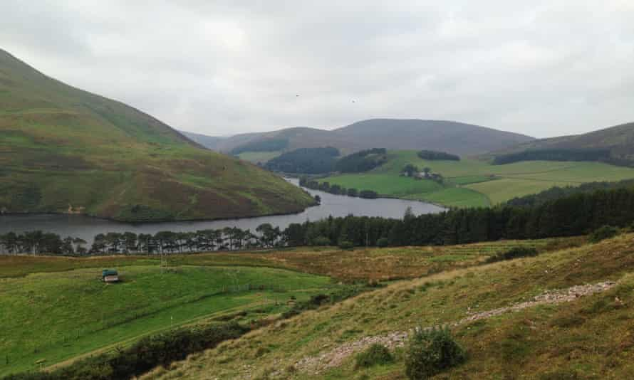 View from the Pentland Hills walk.