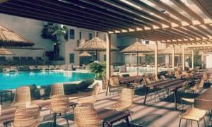 Cook's Club hotel, Hersonissos, Crete.