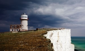 The Belle Tout lighthouse, Beachy Head, converted to a holiday home by Ted Cullinan.
