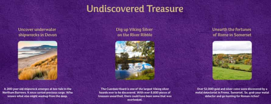 Cadbury's Treasure Island campaign