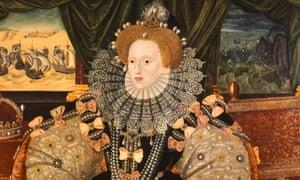 The Armada Portrait of Elizabeth I of England, unknown artist, 1588.