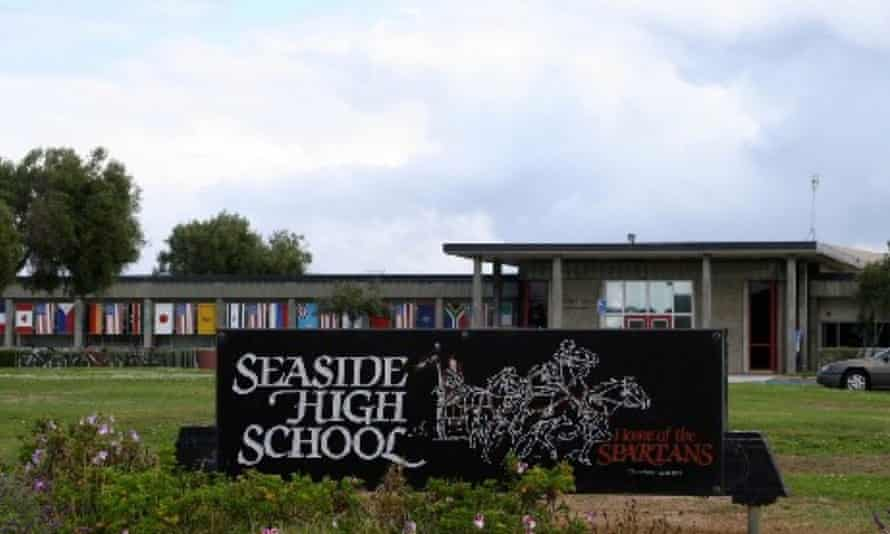 Seaside high school is located near Monterey in northern California.