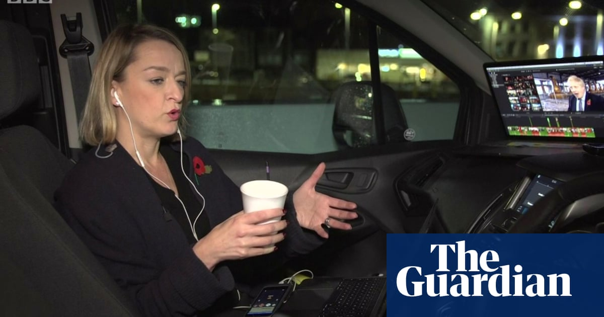 Facebook bans Tories distorted party advert with Laura Kuenssberg
