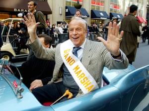 Parade grand marshal Franco Zeffirelli