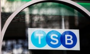 A branch of the TSB in Edinburgh.