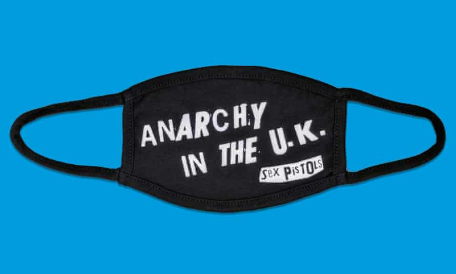 Anarchy in the UK face mask by Bravado