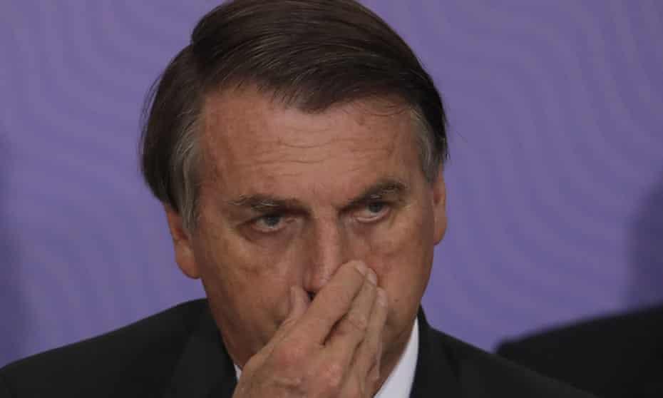 President Jair Bolsonaro: 'Why would I get vaccinated?'