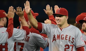 Mike Trout became American League MVP for a second time in 2016.