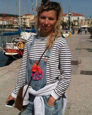 Dutch volunteer Steffi De Pous.