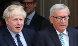 Johnson and Juncker.