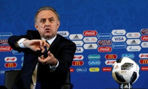 Vitaly Mutko, the head of Russia's Football Association, addresses the media ahead of Friday's World Cup draw in Moscow