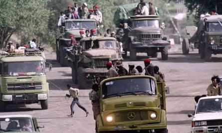 Ethiopian People's Revolutionary Democratic Front (EPRDF) reinforcements in 1991