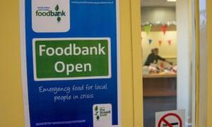 A food bank.