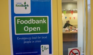 A Trussell Trust Food Bank In Liverpool. A new study says food bank use is triggered by benefit delays