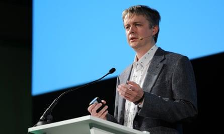 Jaan Tallinn at Futurefest in London in 2013.