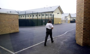 Yarls Wood immigration Removal centre in Clapham near Bedford in Bedfordshire