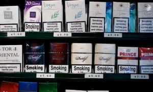 Cigarette brands