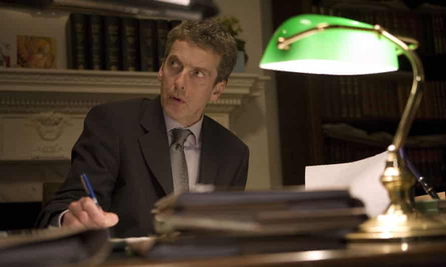 Peter Capaldi Malcolm Tucker The Thick of It.