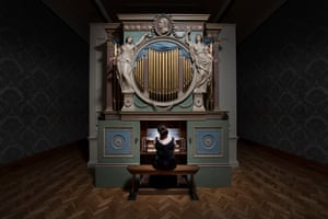 The Sky in a Room by Ragnar Kjartansson at National Museum Cardiff.