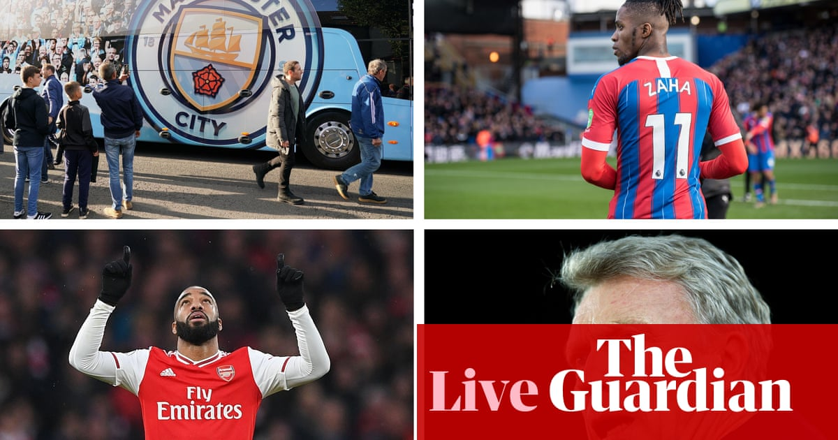 Manchester City v Crystal Palace, Arsenal v Sheffield United and more – live!