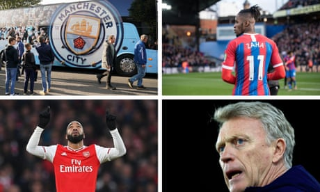 Manchester City v Crystal Palace, Arsenal v Sheffield United and more – live!