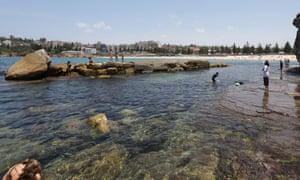 Giles baths at Coogee beach