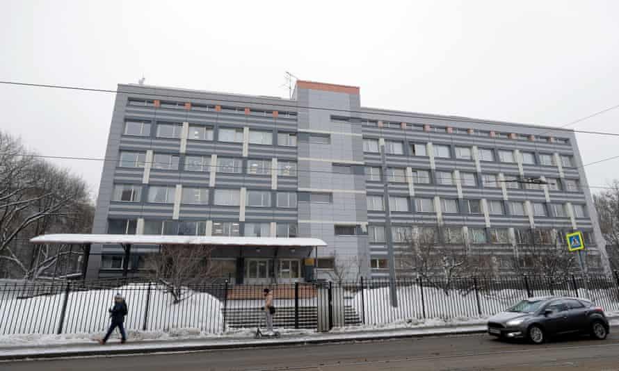 The Russian anti-doping laboratory in Moscow, which has now given up its data to Wada.